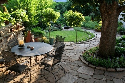 Garden Patio, istockphoto, used under license