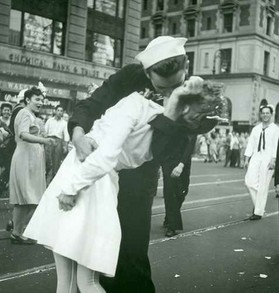 NY Celebration of the end of the war