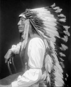 Iron Tail Of The Oglala Sioux