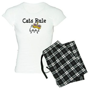 Cats Rule Pajamas