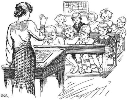 Listening to Teacher in a Traditional Classroom