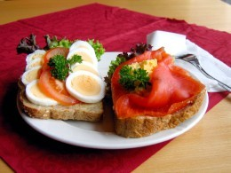 An Open Sandwich