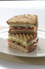 Cut and Stacked Panini
