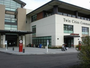 Twin Cities Hospital  Emergency Entrance