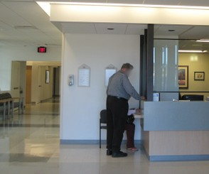 New Check-in Area for the Emergency Room