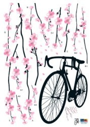 Sakura Blossoms Wall Art Stickers