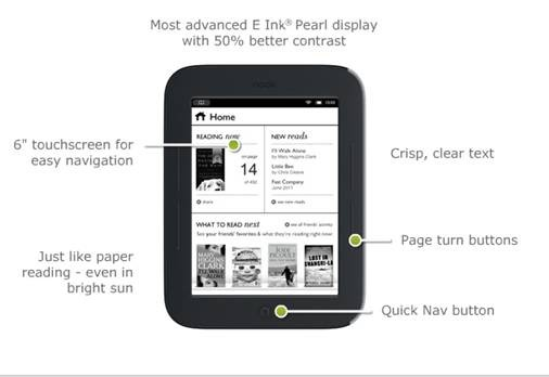 The Simple Touch eReader