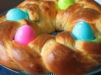 How To Make Braided Easter Bread