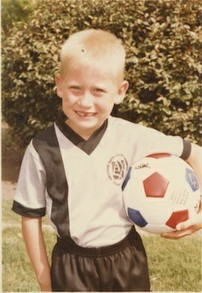 Jason on His First Soccer Team
