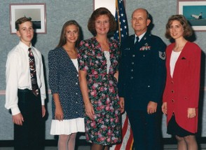 USAF Retirement Day 1994