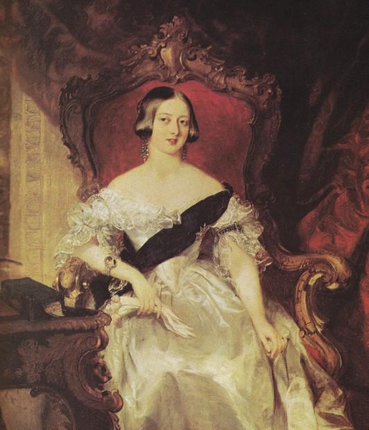 Queen Victoria Racy Portrait