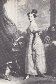 QUEEN VICTORIA AND SPANIEL DASH