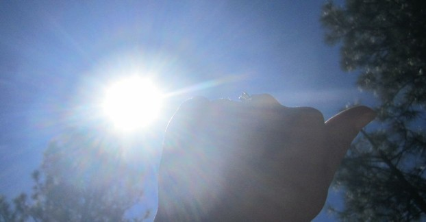 Using Your Hand, the Sun, and Solar Noon to Find South