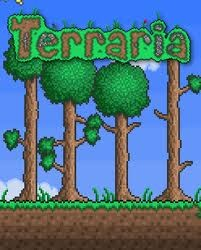A 2D game called Terraria and it is addictive.