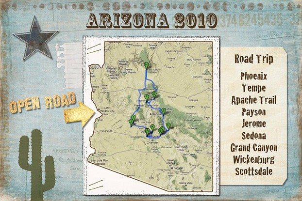 Our Route Through Central Arizona