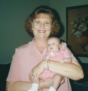 Gramma and Devin 6 weeks