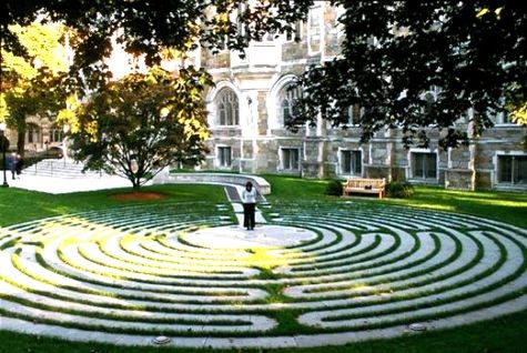 Boston College Memorial Labyrinth