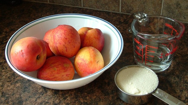 peach butter ingredients
