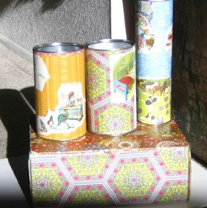 Decoupage How To -- Cover Boxes with Decoupage