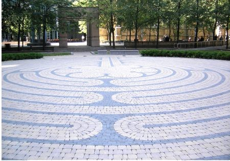 Labyrinth in the Centre of Toronto