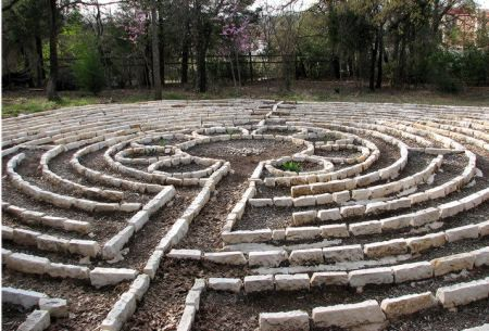White's Chapel Prayer Labyrinth