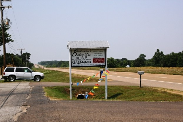 Bakery Sign on Highway 64