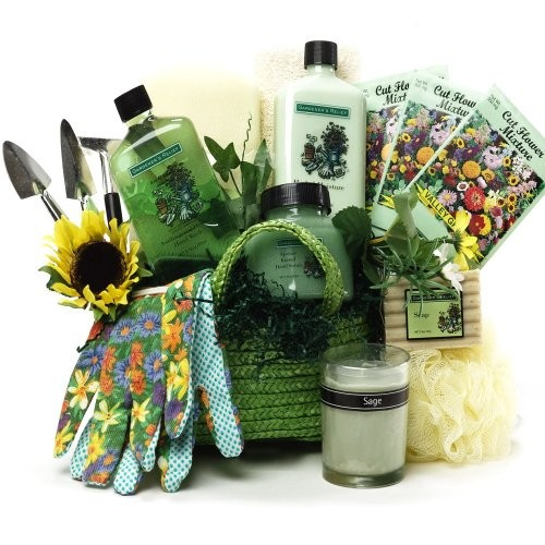 Art Of Appreciation Gift Baskets Gardeneru0027s Relief Spa Bath And Body Set  Tote