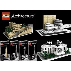 Lego Architecture Sets - 7 Models