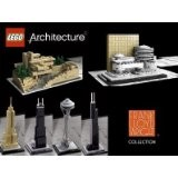 Lego Architecture Sets - 6 Models