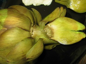 Eating an Artichoke