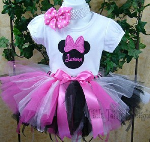 Mouse Birthday Tutu