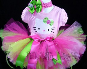 Hello Kitty Birthday Tutu