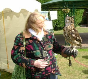 Beaautiful moment with Eagle Owl.