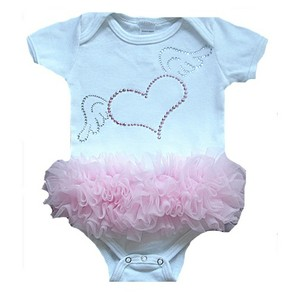 Winged Heart Tutu Onesie