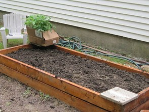 Small Space Gardening: Raised Bed Planter Box