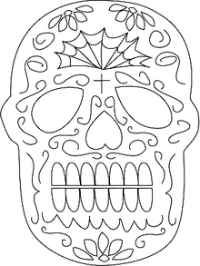 Sugar Skull Mask Craft