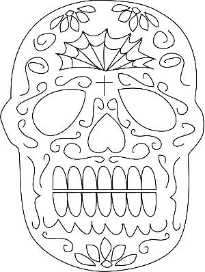 Sugar Skull Mask Craft