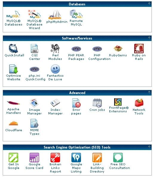 The cPanel part 3