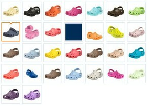 Crocs Kids Colors
