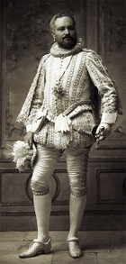 James Breese in costume