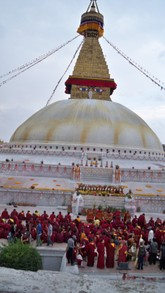 Festival Time at Boudha Stupa