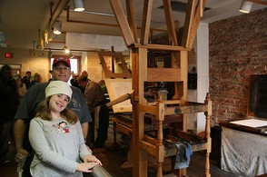 Ben Franklin's Printing Press