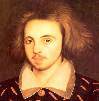 Christopher Marlowe did influence Shakespeare's plays but didn't write them.