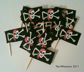 Finished Pirate Party Picks