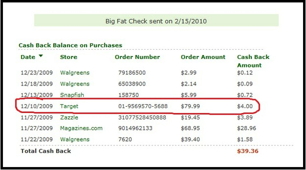 Using Ebates for online purchases