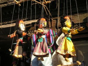 Marionettes from Nepal
