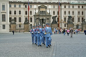 Prague Castle Changing of the Guards
