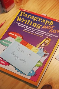 Paragraph Writing Workbook