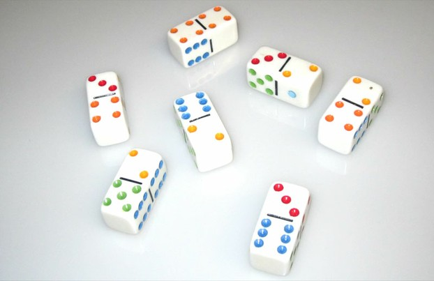 The object of the game of Domino Dice is to have the highest score at the end of the game.