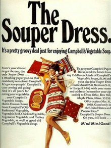 Campbell's Soup Dress
